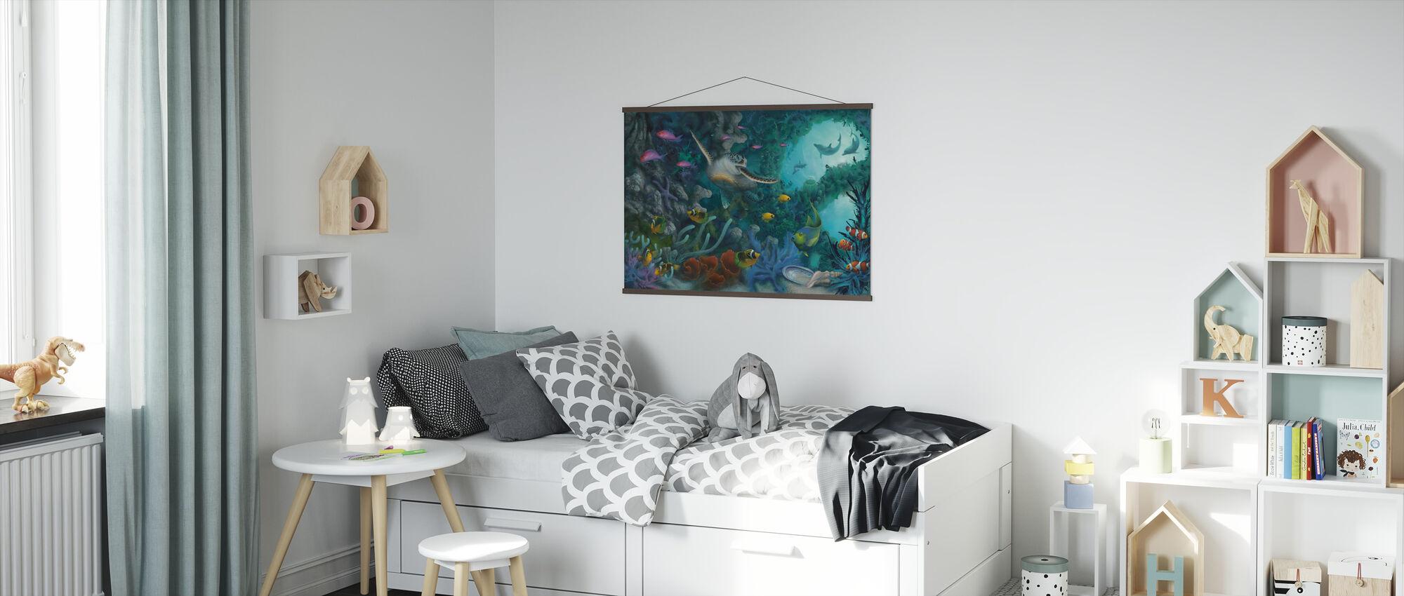 Juwelen van de zee - Poster - Kinderkamer