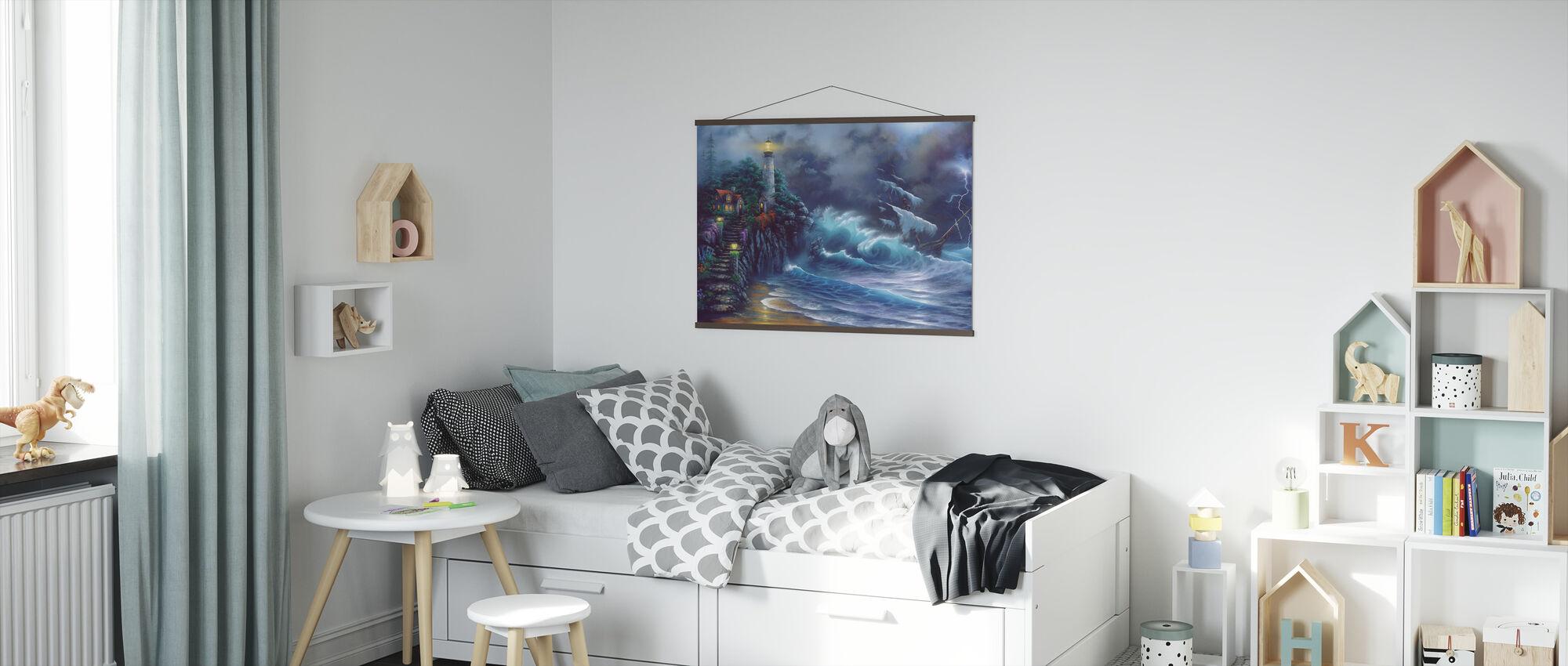 Revenge of the Sea - Poster - Kids Room