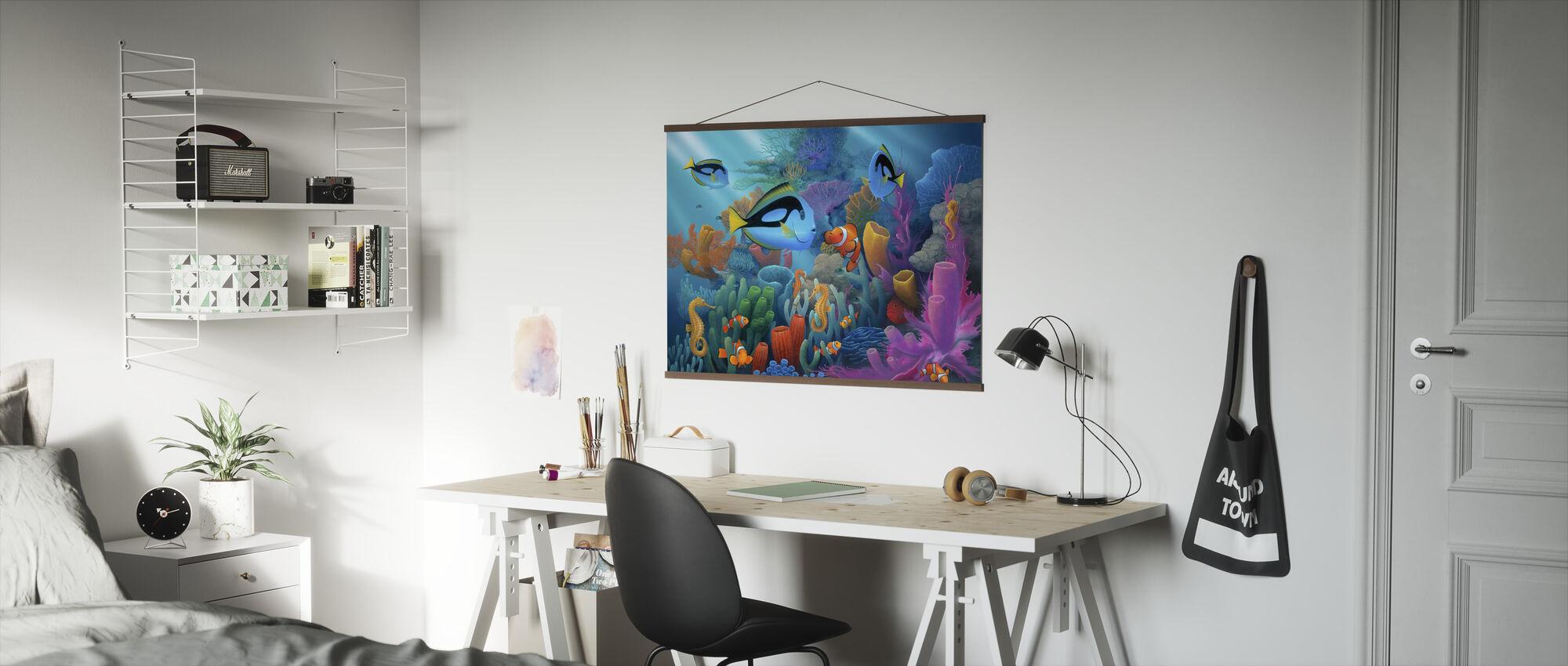 Vrienden van de zee - Poster - Kantoor