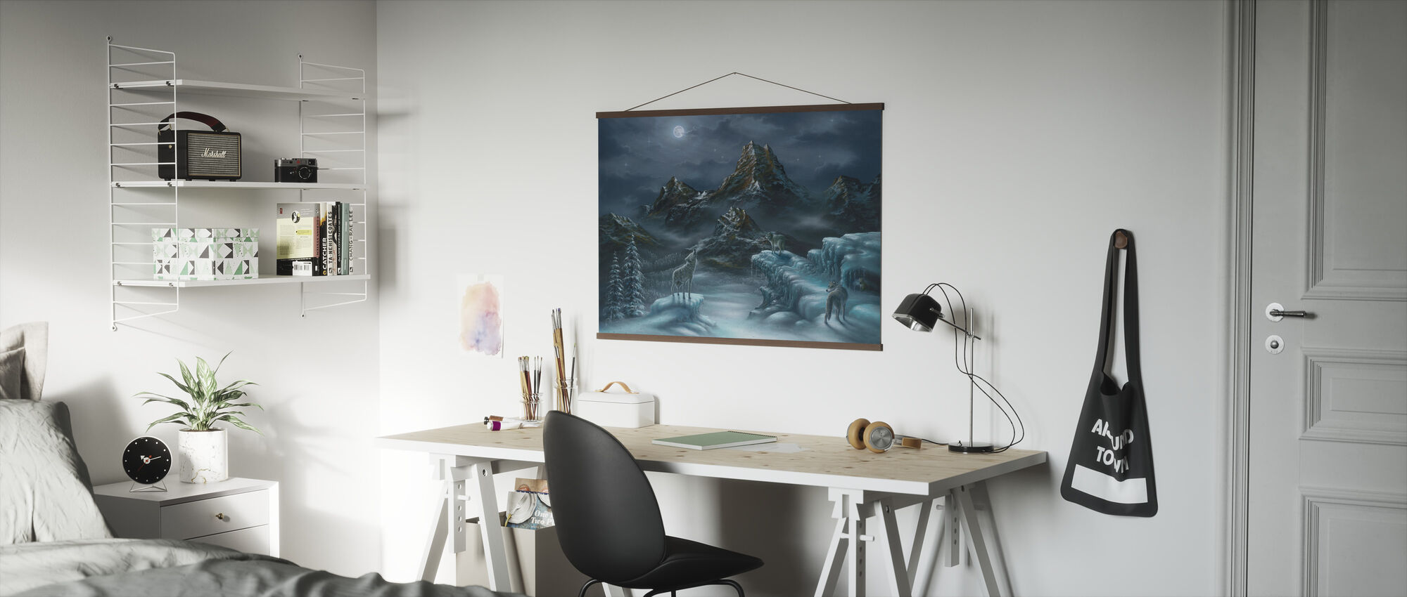 Spirit Song - Wolf - Poster - Office