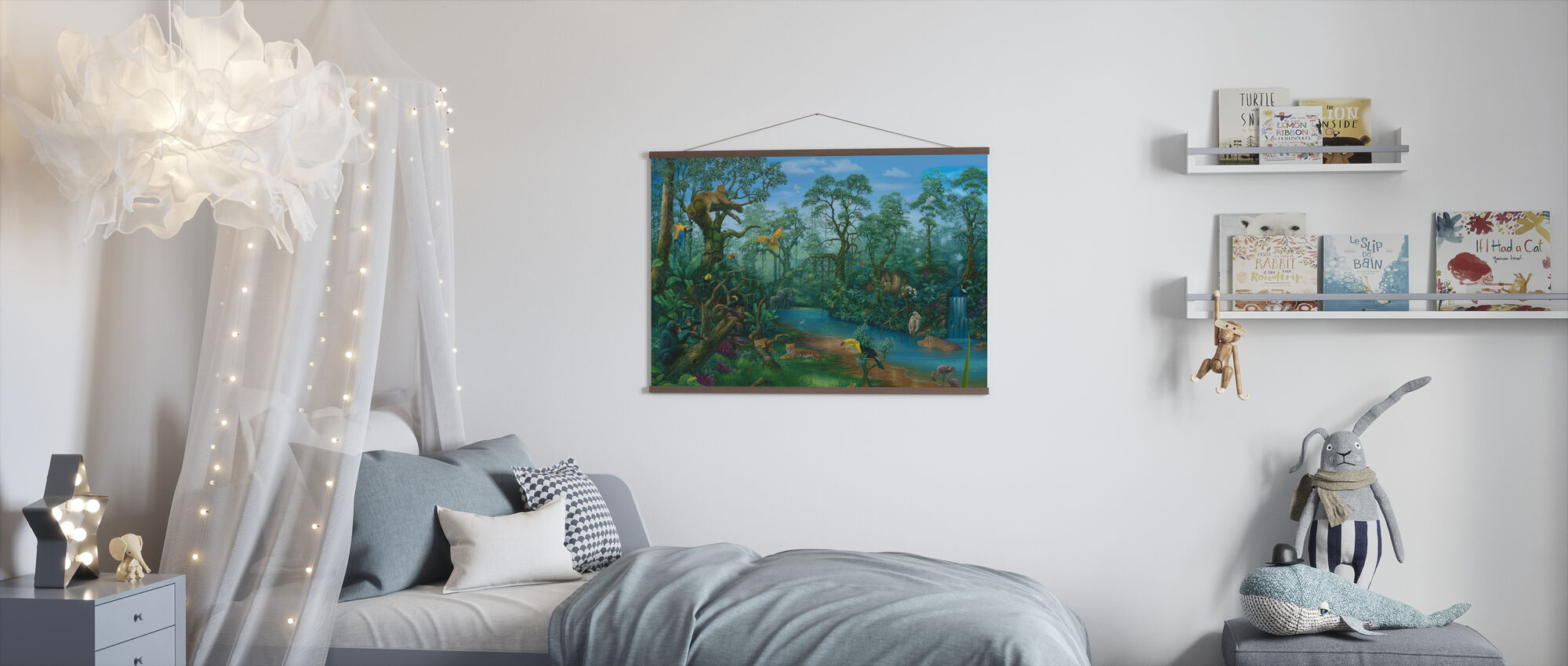 It's a Jungle Out There - Poster - Kids Room