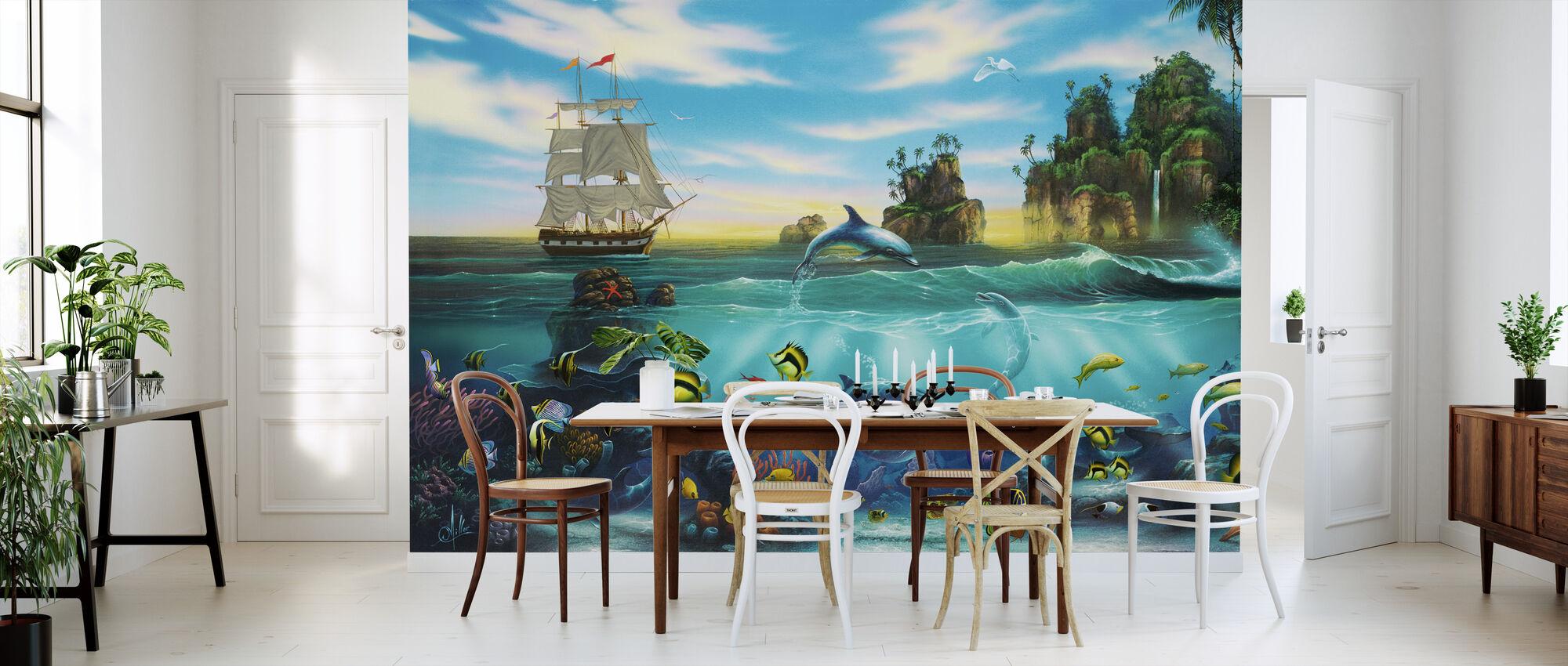 paradise found fototapete nach ma photowall. Black Bedroom Furniture Sets. Home Design Ideas