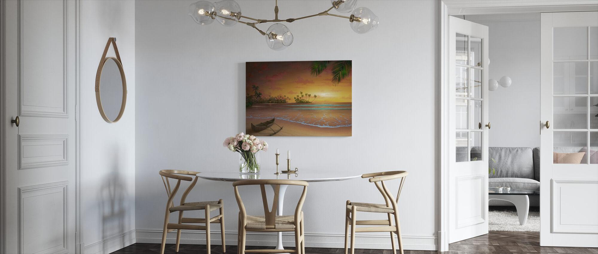 Island Passion - Canvas print - Kitchen