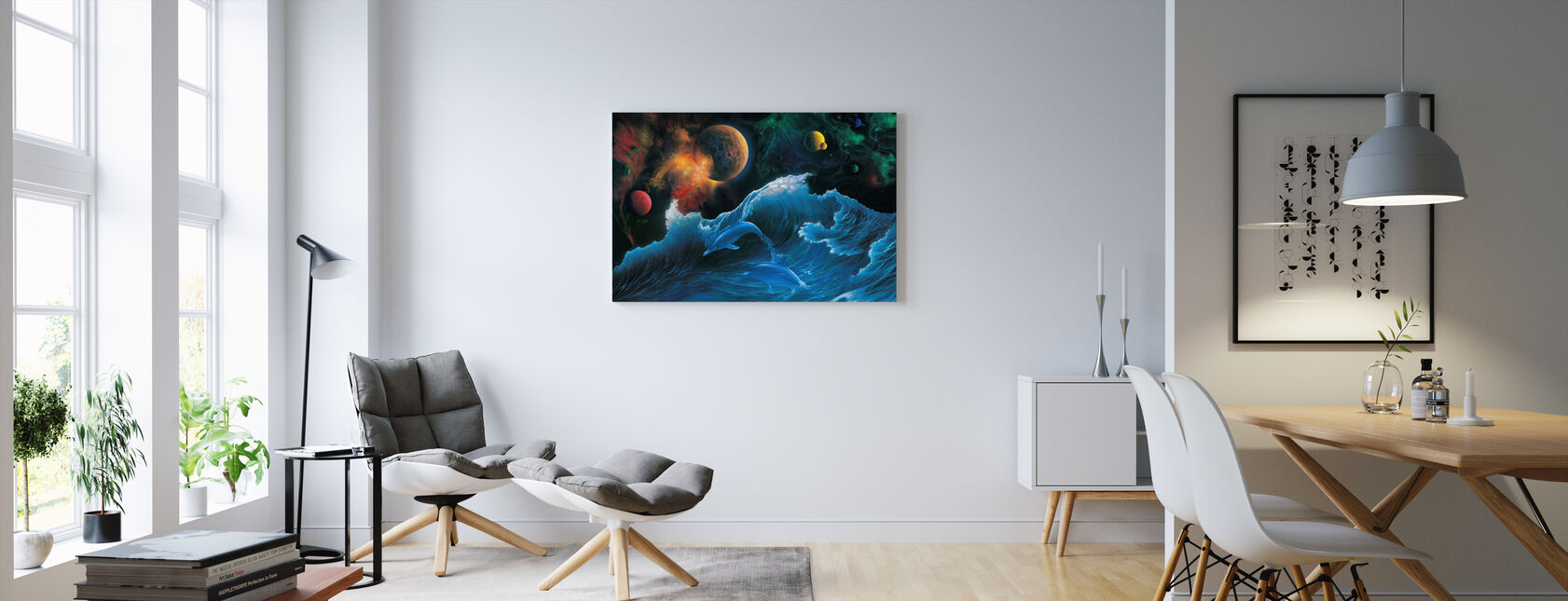 Voyager - Canvas print - Living Room