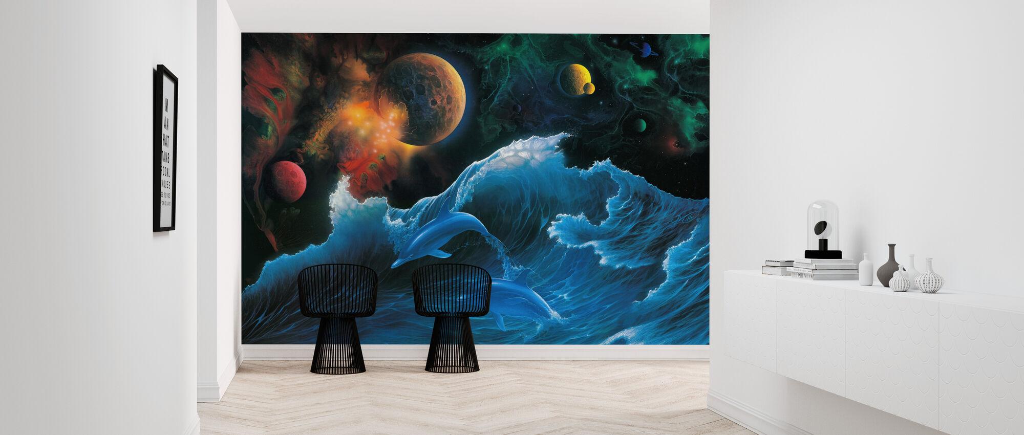 Voyager - Wallpaper - Hallway