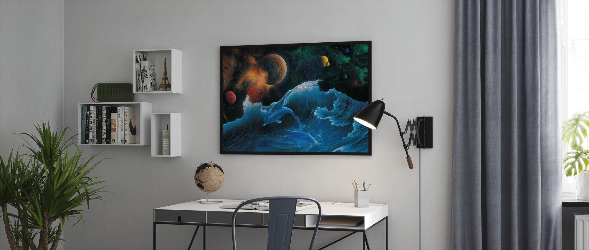 Voyager - Framed print - Office