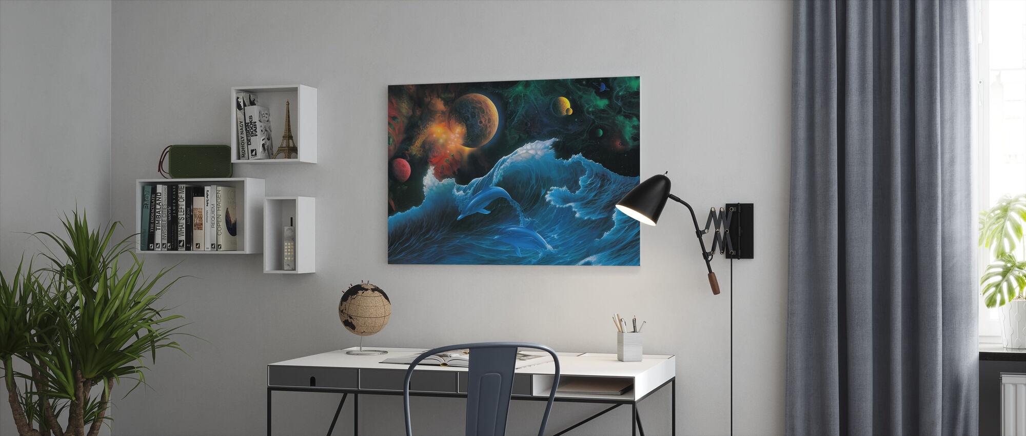 Voyager - Canvas print - Kantoor