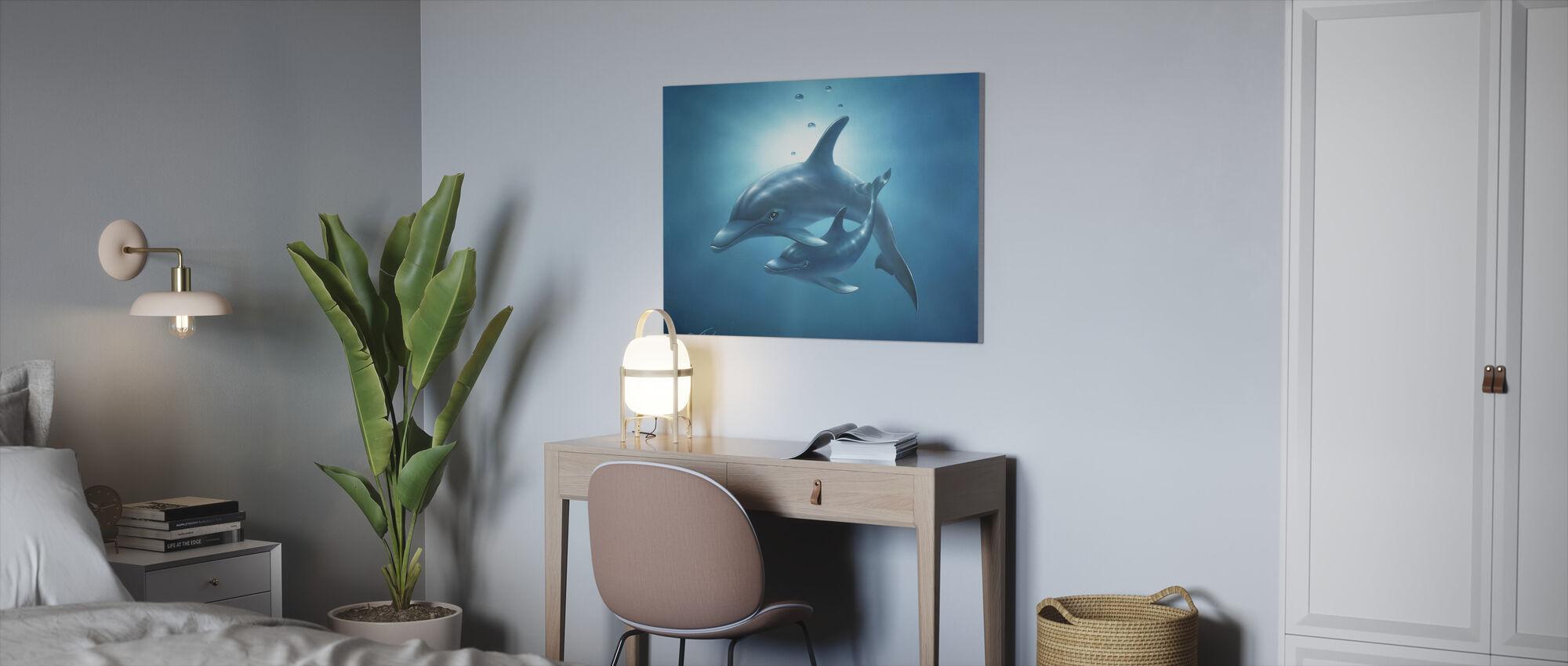 Love - Canvas print - Office