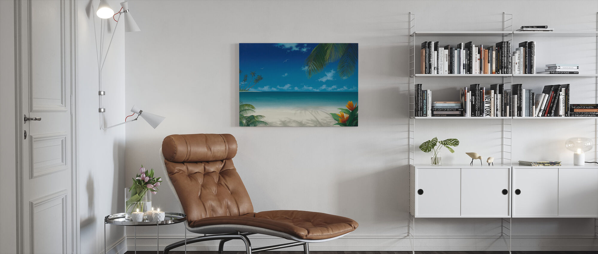 Day in the Sun - Canvas print - Living Room