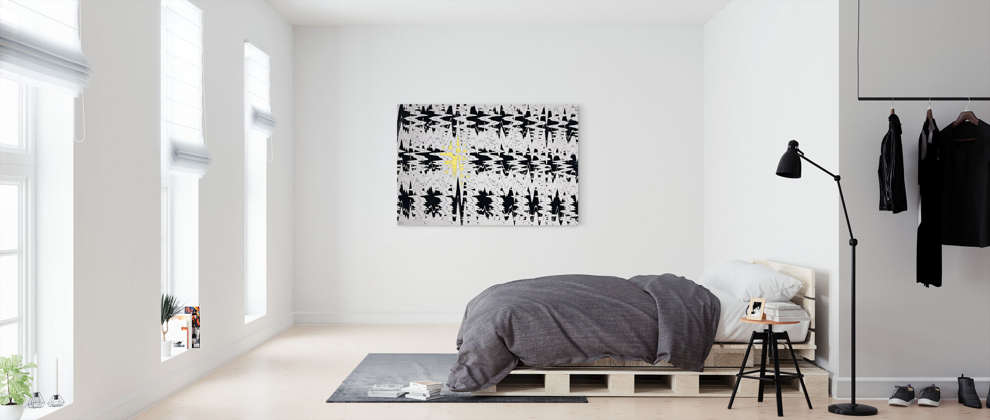 Disturbia - Canvas print - Bedroom