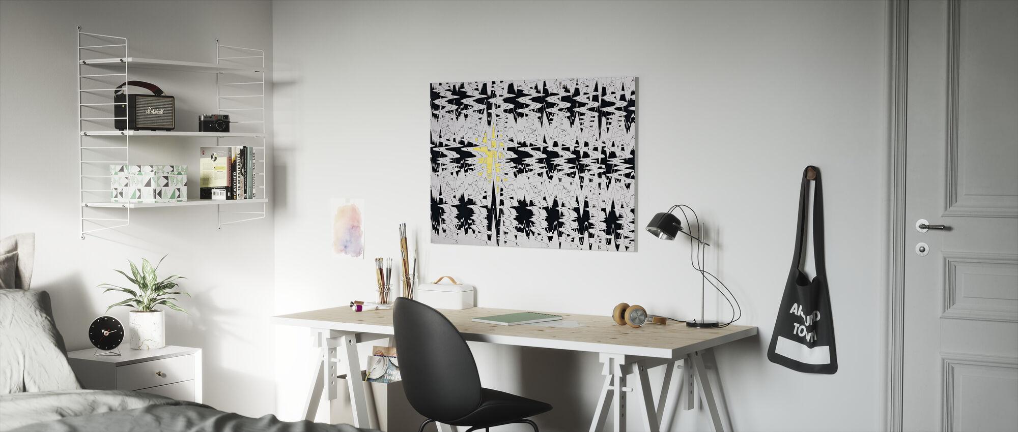 Disturbia - Canvas print - Kids Room