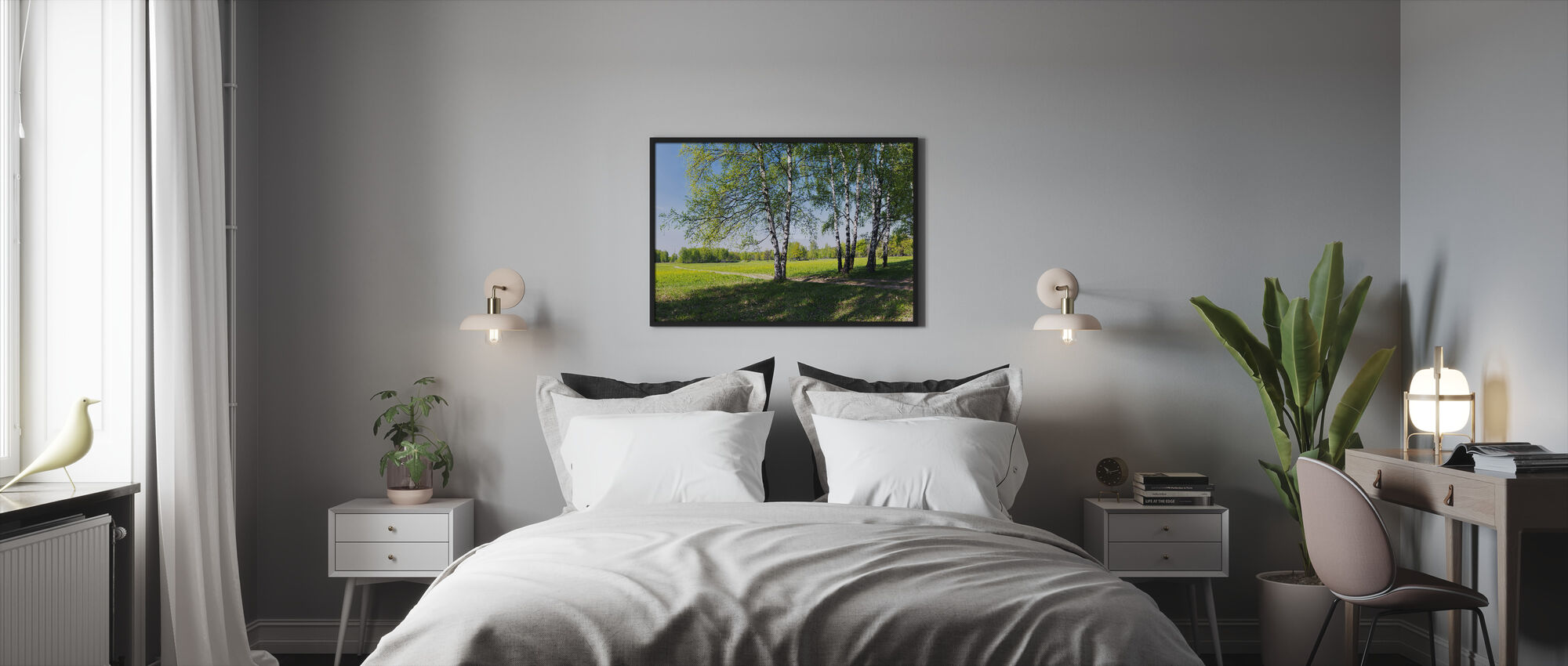 The Countryside - Framed print - Bedroom