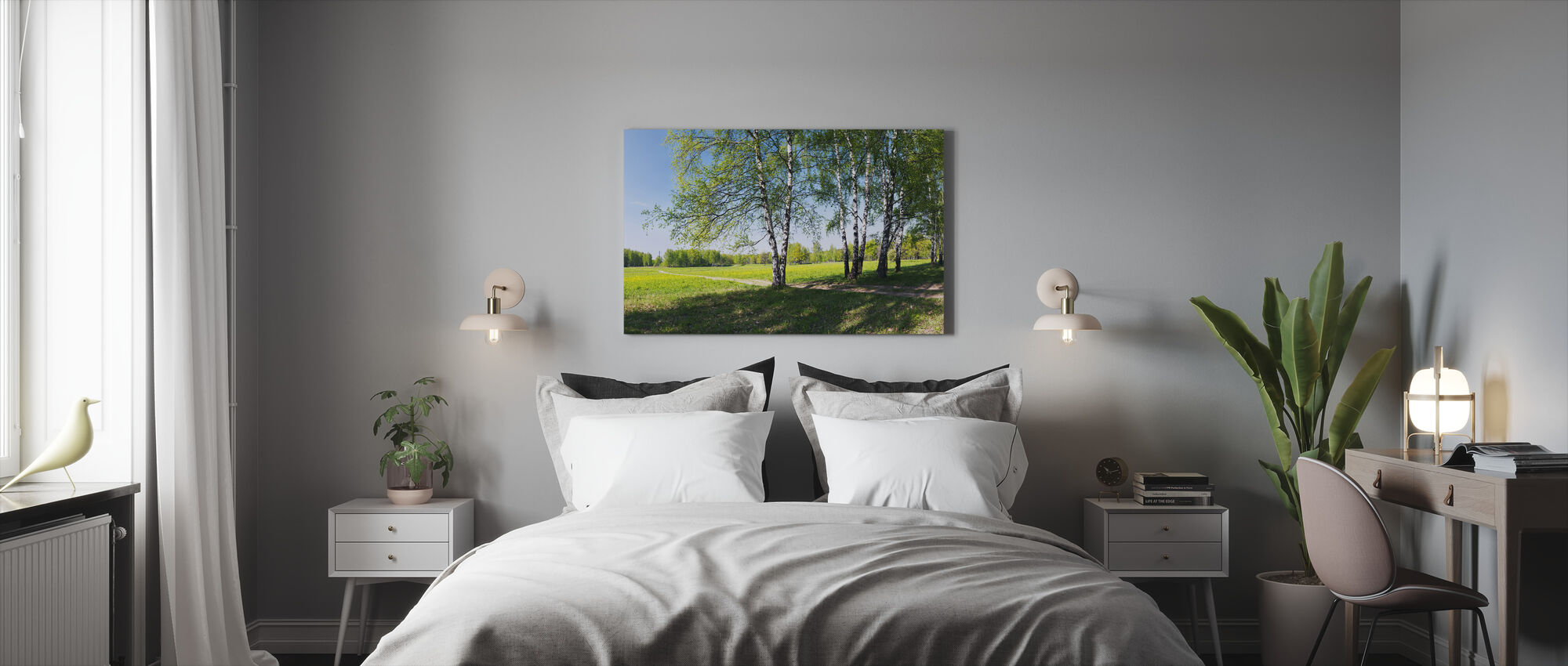The Countryside - Canvas print - Bedroom
