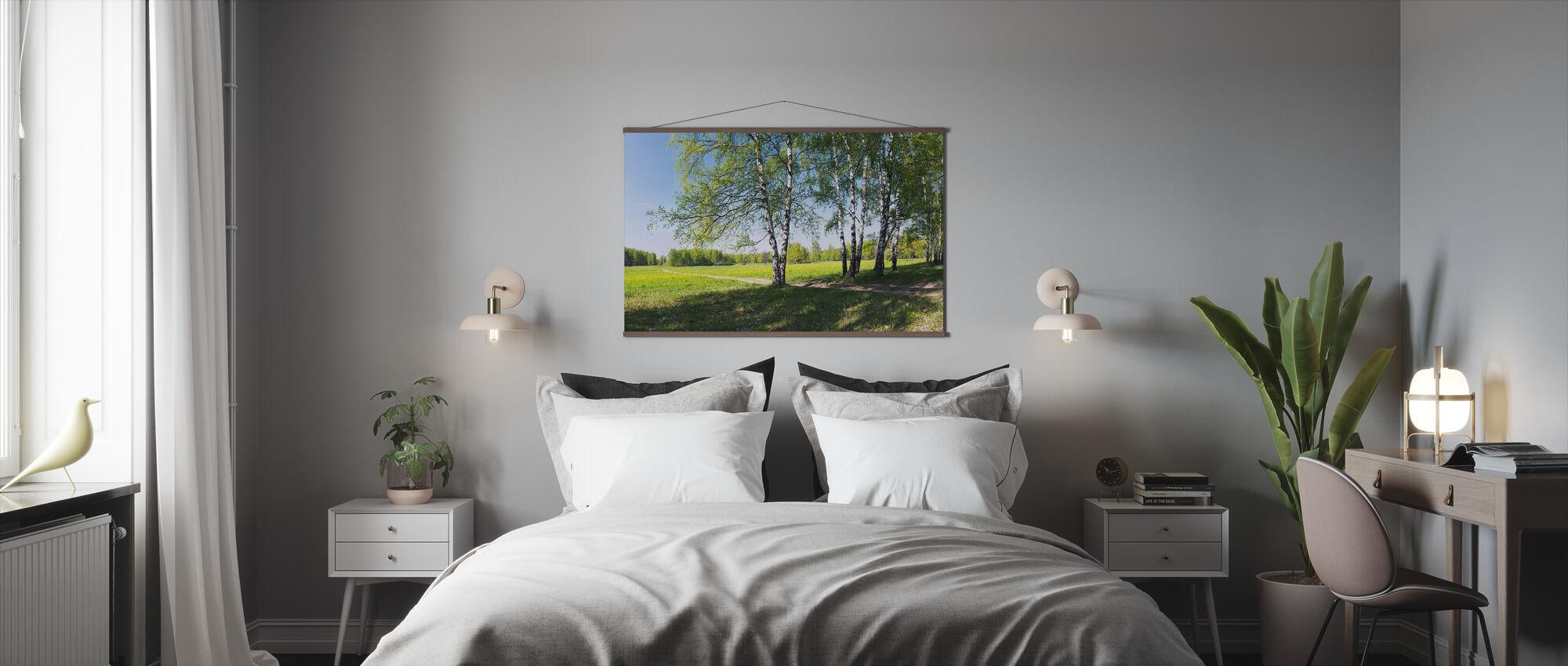 Het platteland - Poster - Slaapkamer