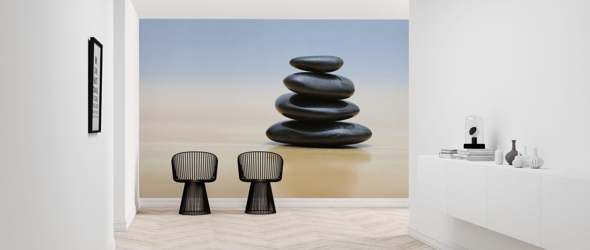 Zen Stones - Wallpaper - Hallway