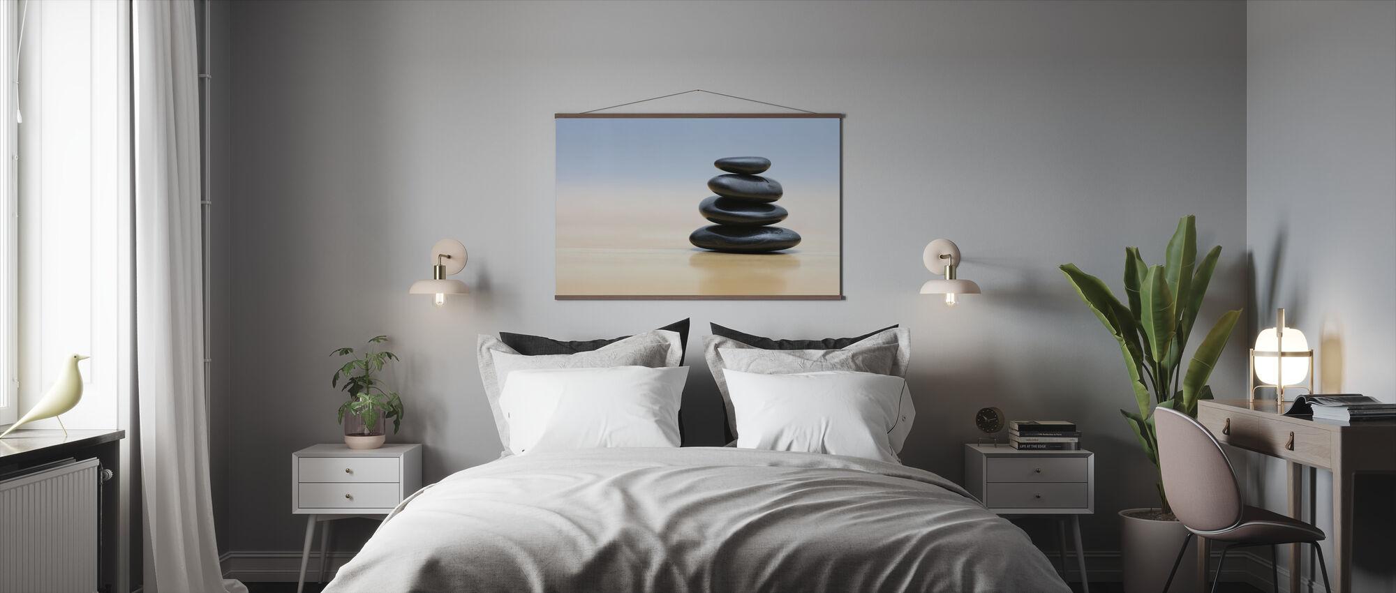 Zen Stones - Poster - Bedroom
