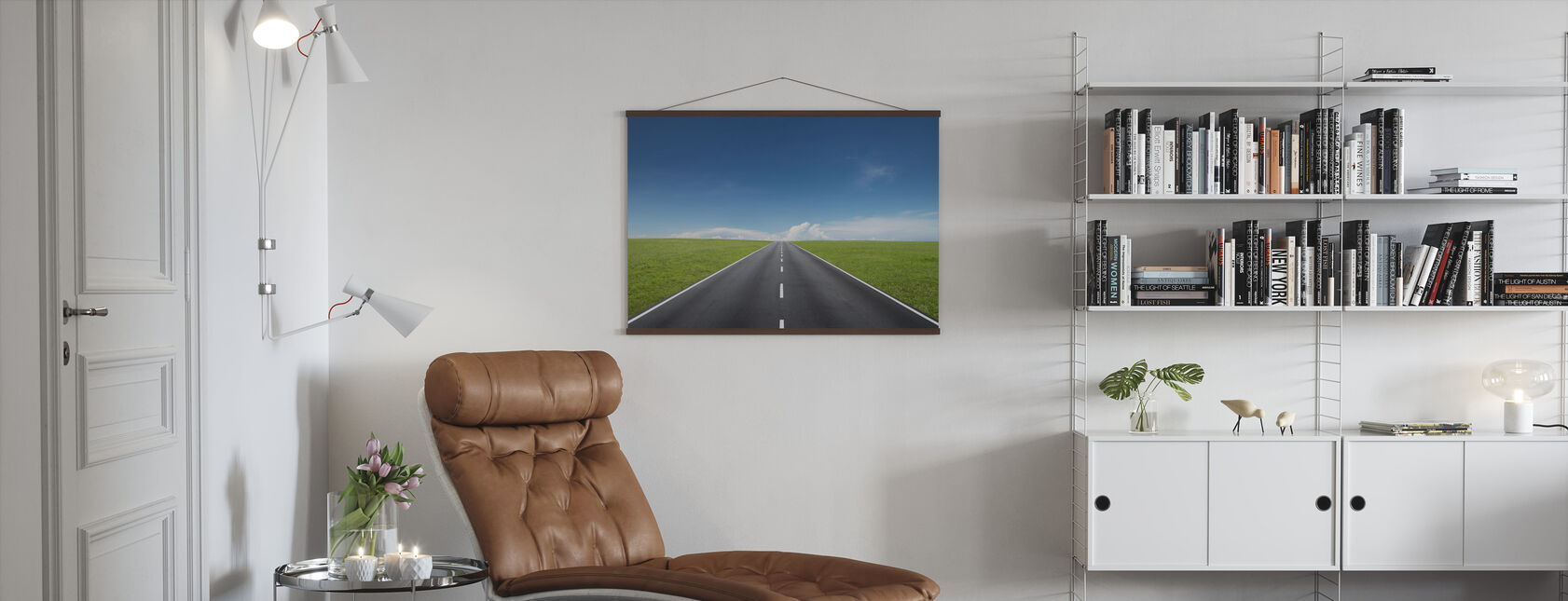 Endless Road - Poster - Living Room