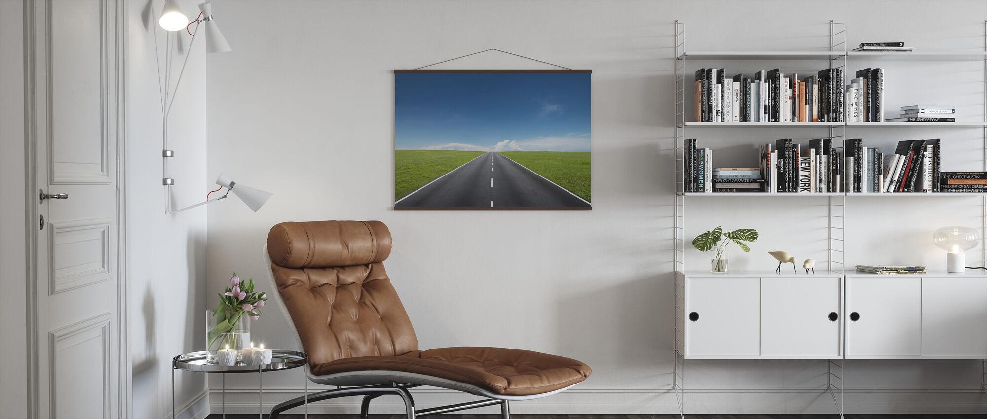 Endeløse veien - Plakat - Stue