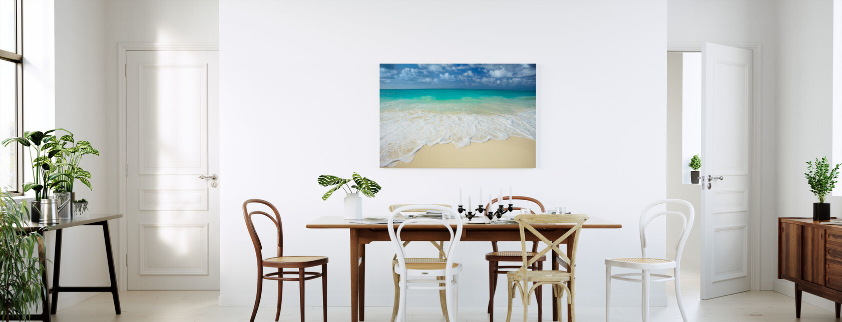 Paradise Sea - Canvas print - Kitchen