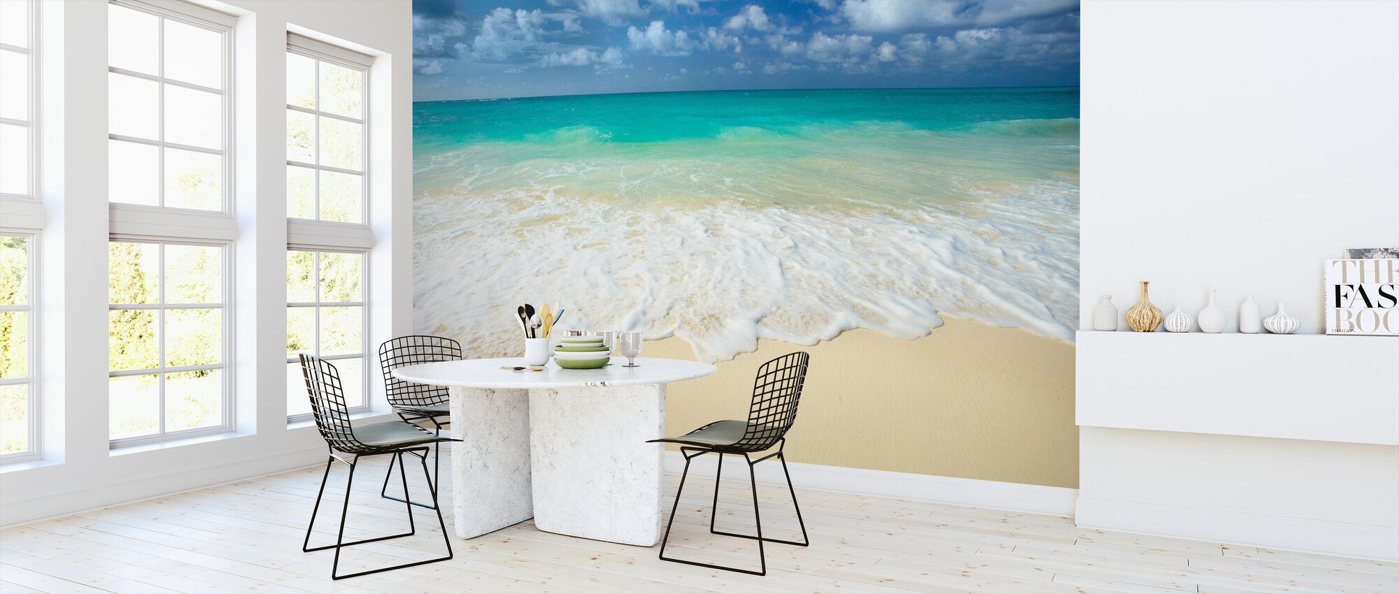 Paradise Sea - Wallpaper - Kitchen