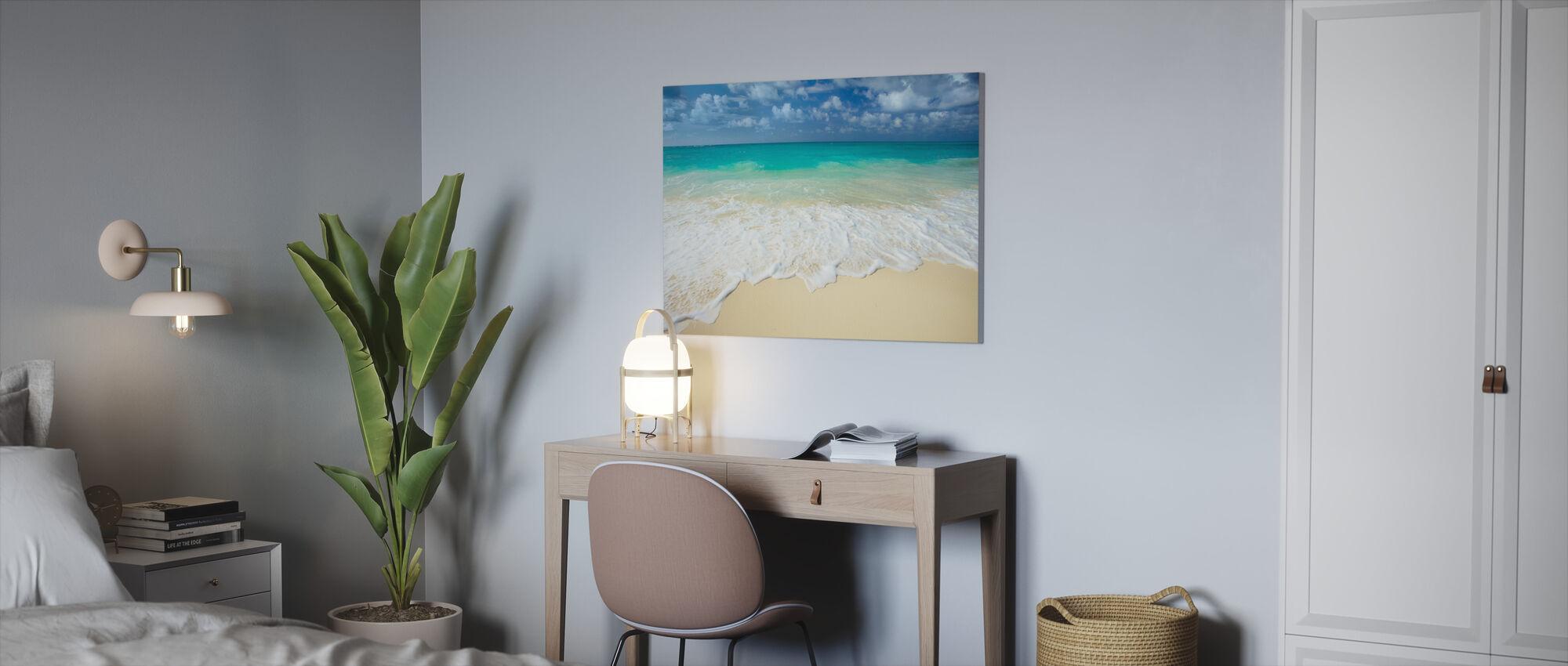 Paratiisi-meri - Canvastaulu - Toimisto