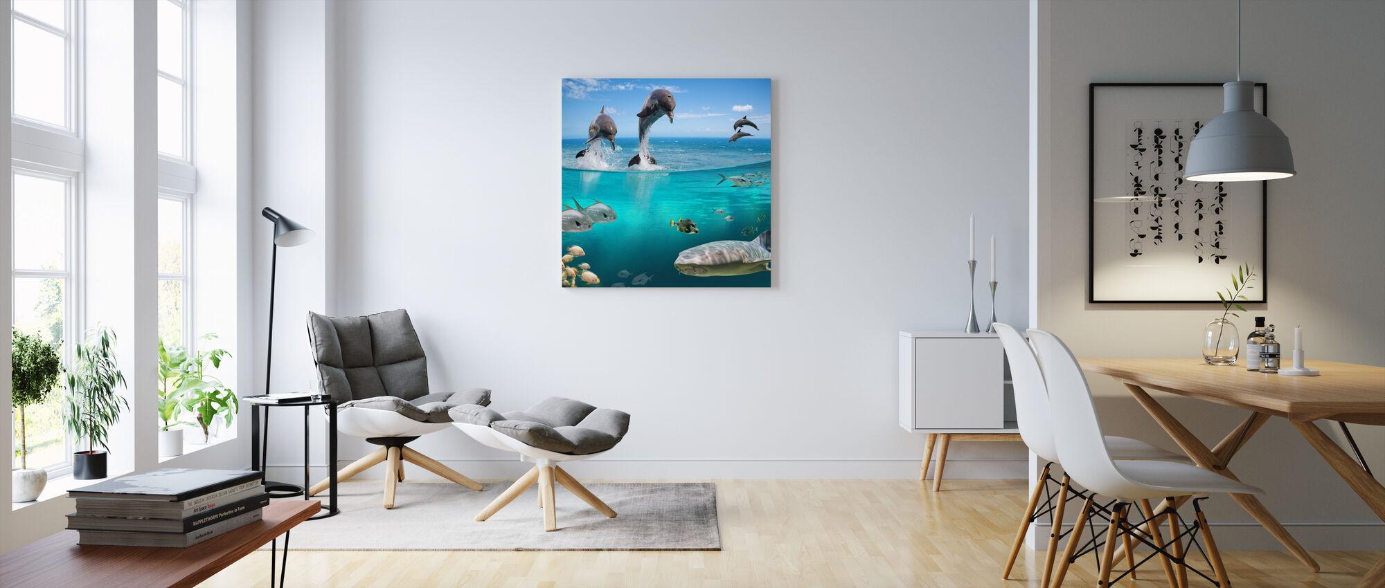 Zeeleven - Canvas print - Woonkamer