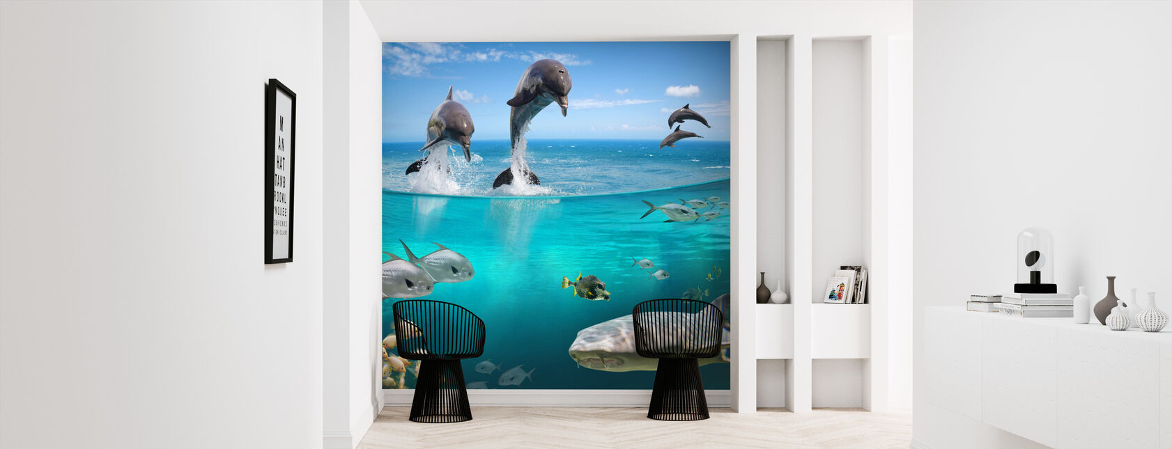 Sea Life - Wallpaper - Hallway