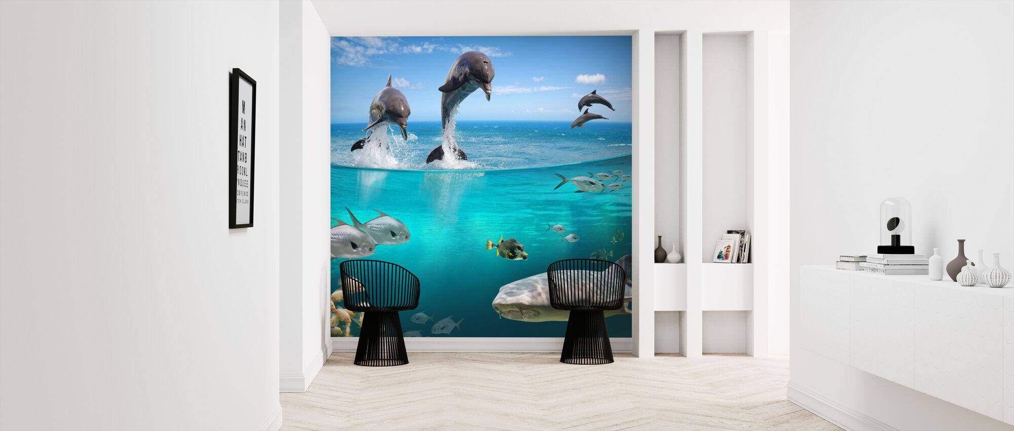 Sea Life - Wallpaper - Hallway