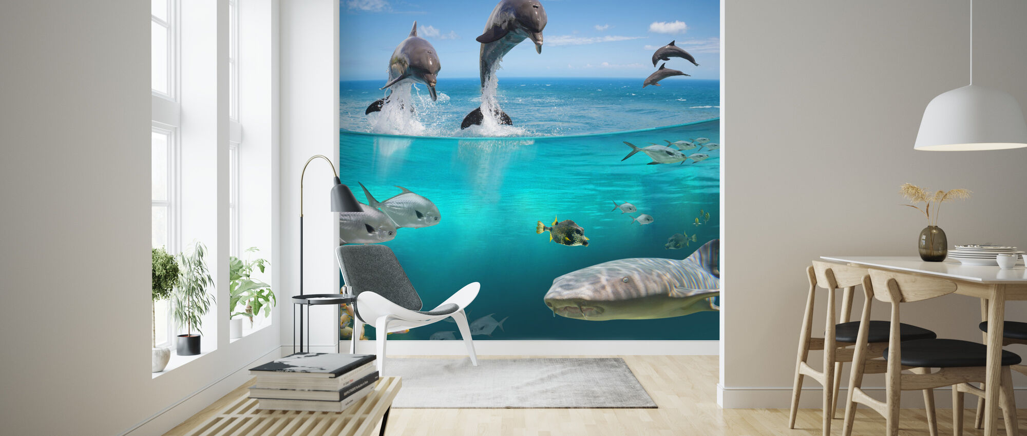 Sea Life Affordable Wall Mural Photowall