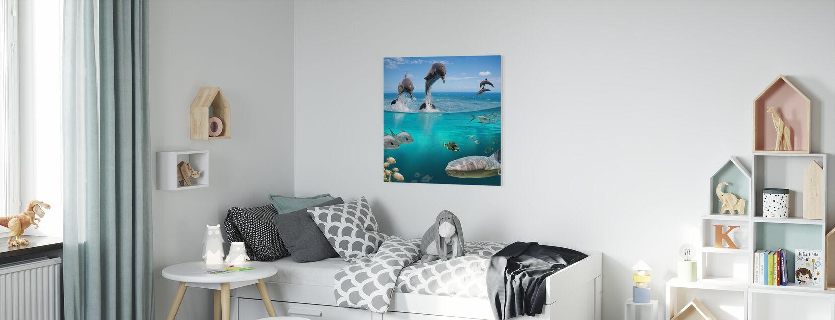 Zeeleven - Canvas print - Kinderkamer