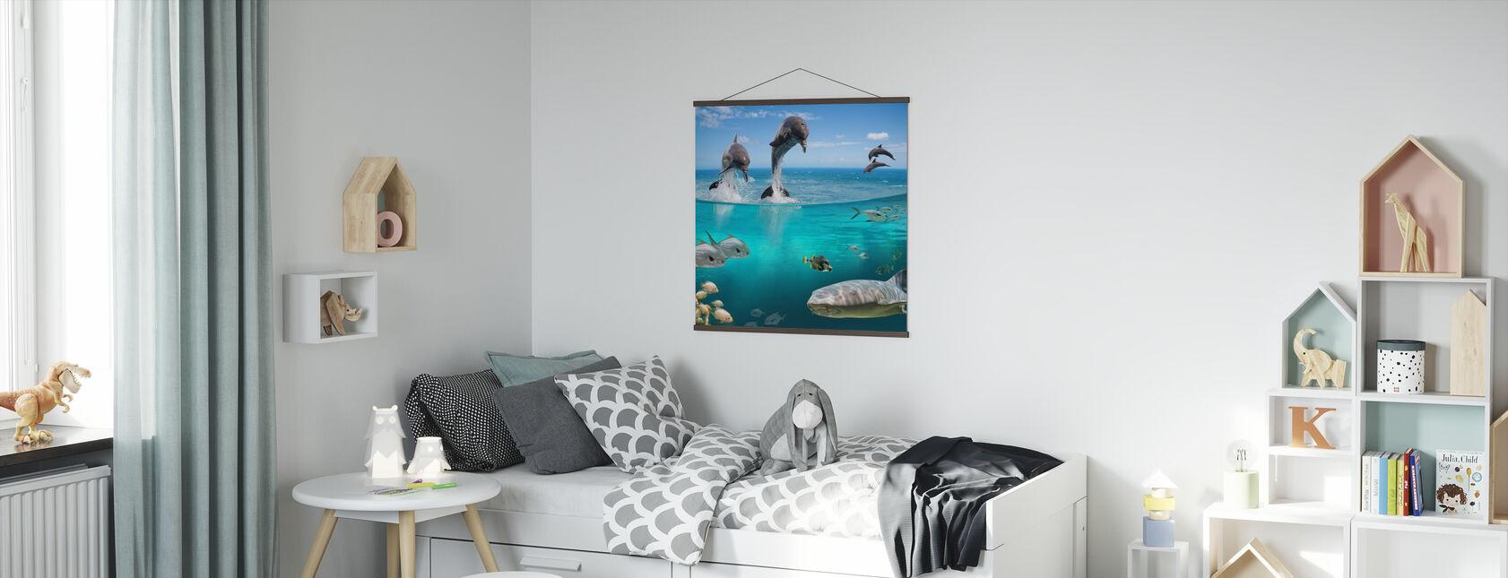 Sea Life - Poster - Kids Room