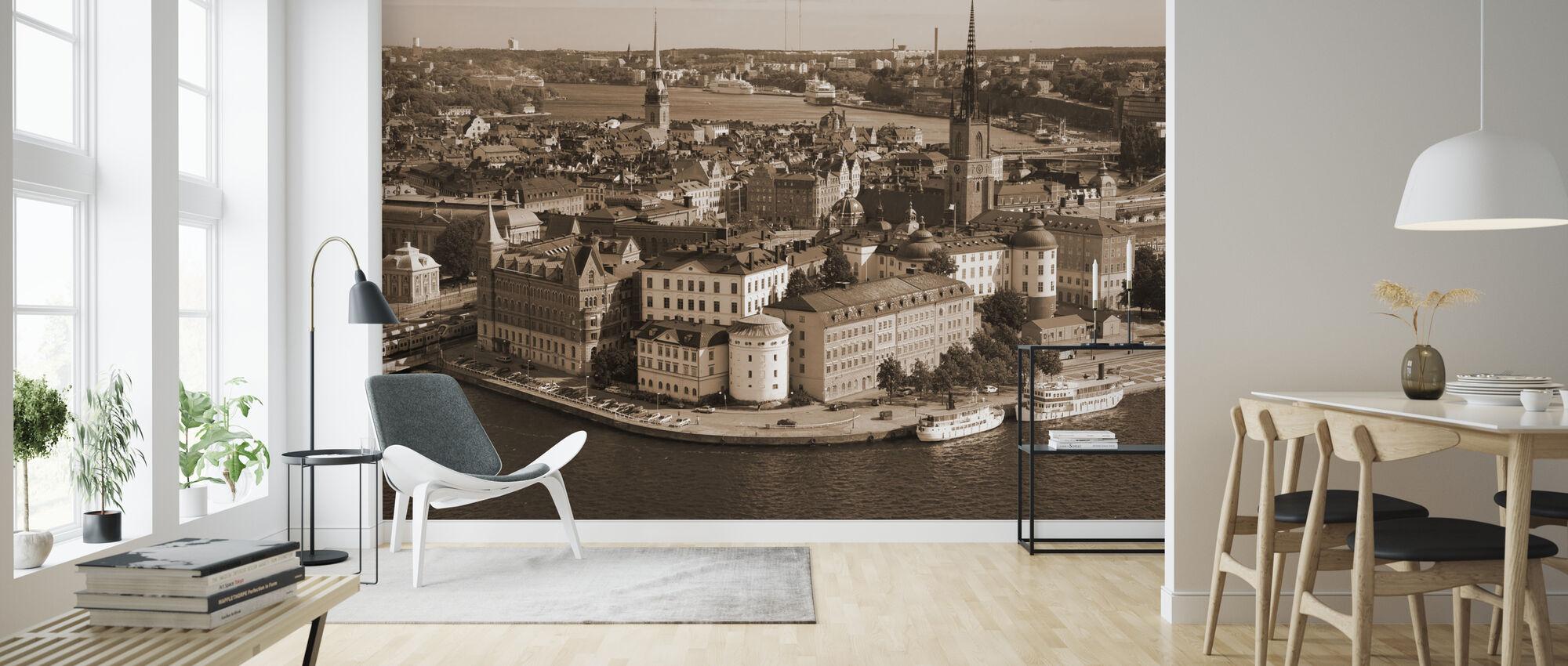 Stockholm i Sunlight - Tapet - Vardagsrum
