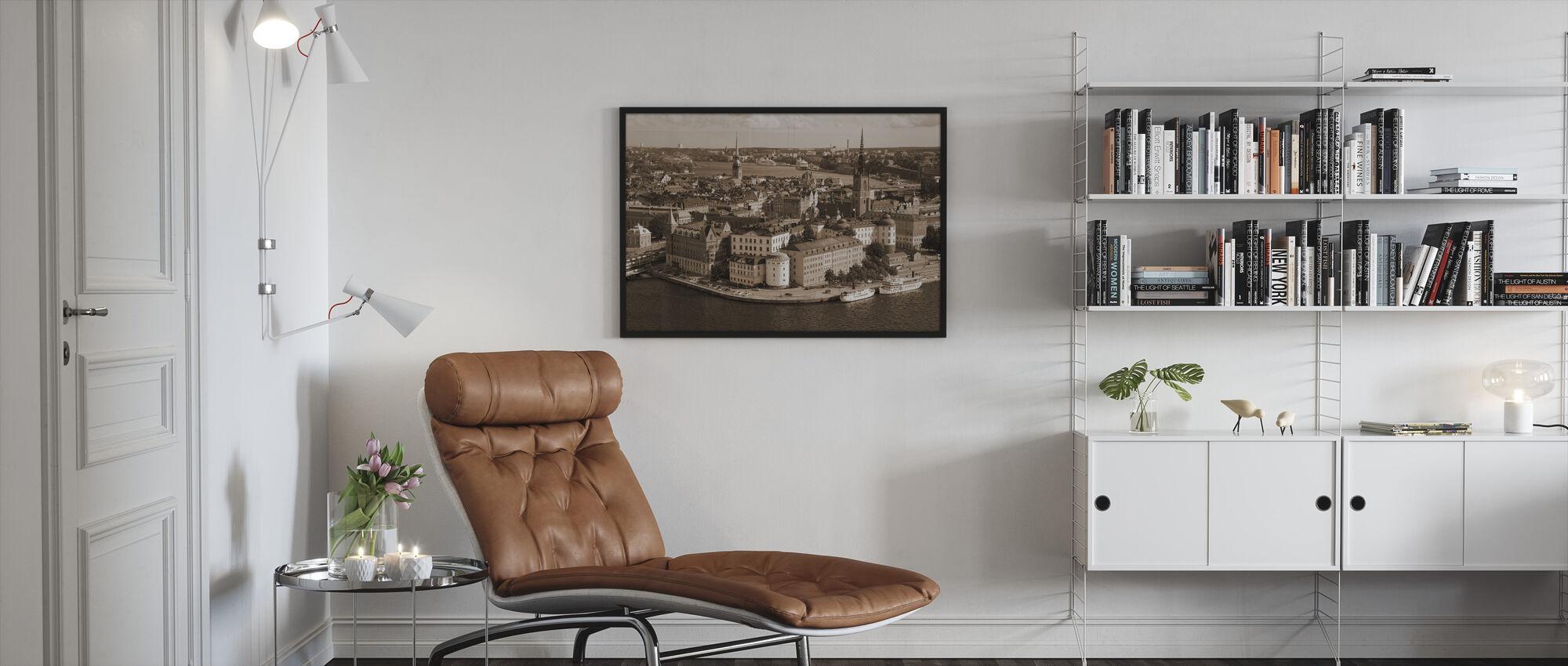 Stockholm in Sunlight - Framed print - Living Room