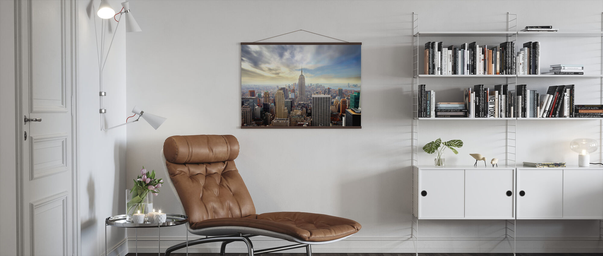 Enchanting New York - Poster - Living Room