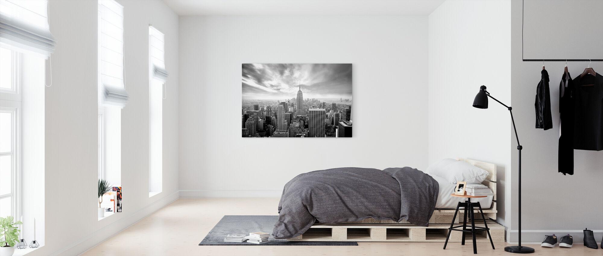 Betoverend New York - Canvas print - Slaapkamer