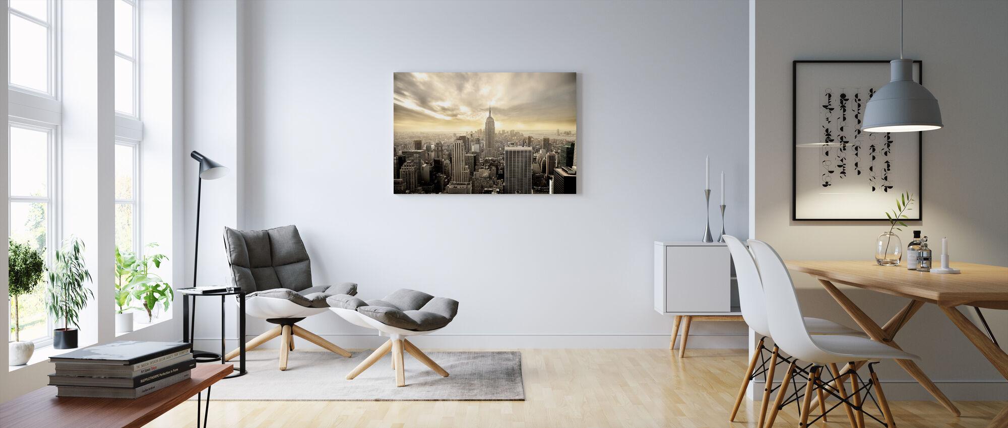 Pennsylvania New York - Canvastaulu - Olohuone