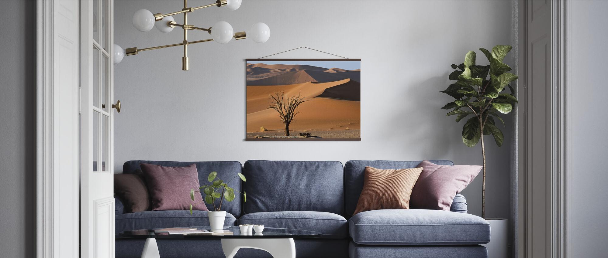 Bright Desert - Poster - Living Room