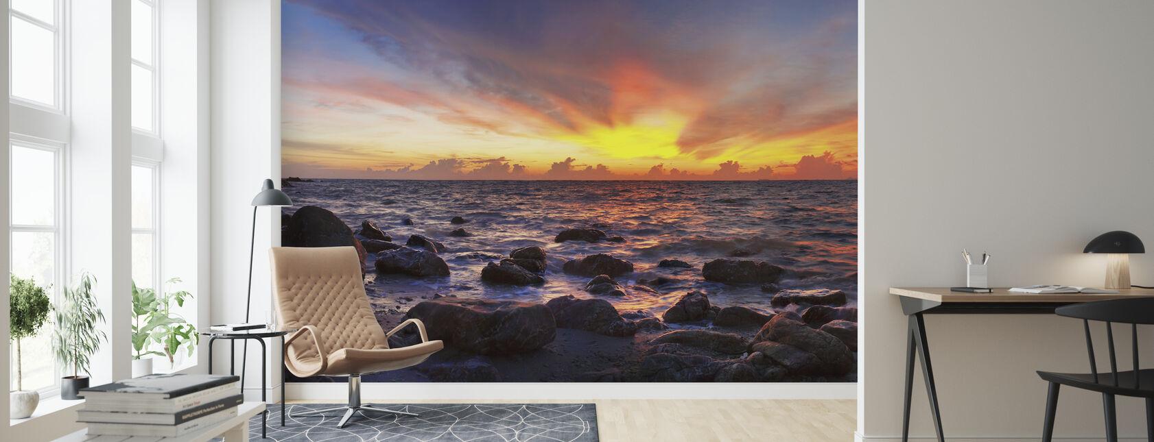 Wild Sunset - Wallpaper - Living Room