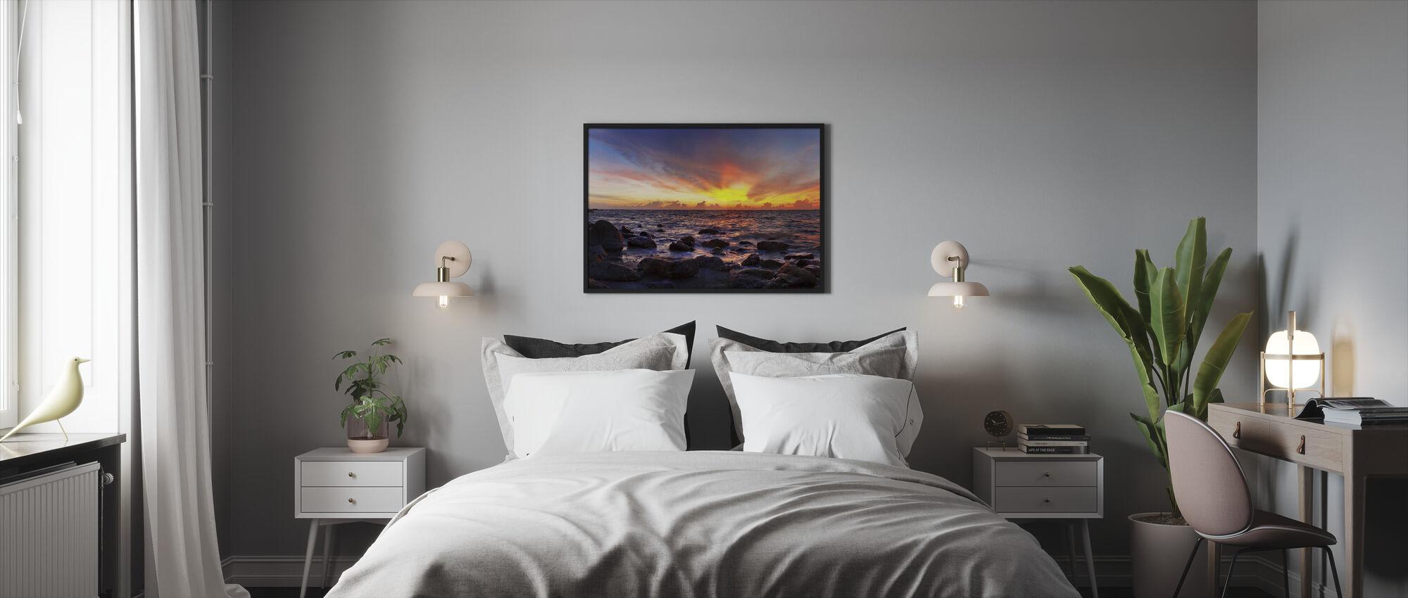 Wild Sunset - Framed print - Bedroom