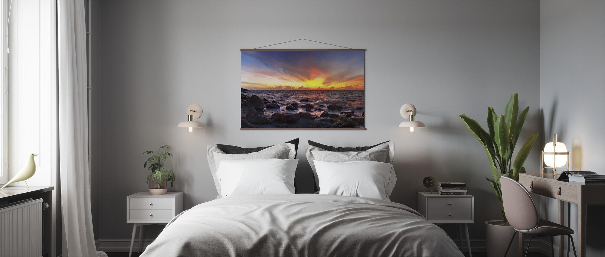 Wild Zonsondergang - Poster - Slaapkamer