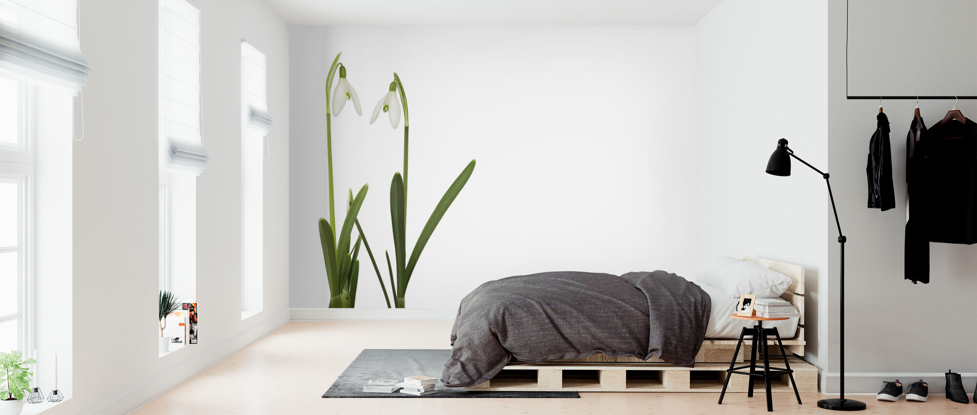 Snow Drop - Wallpaper - Bedroom