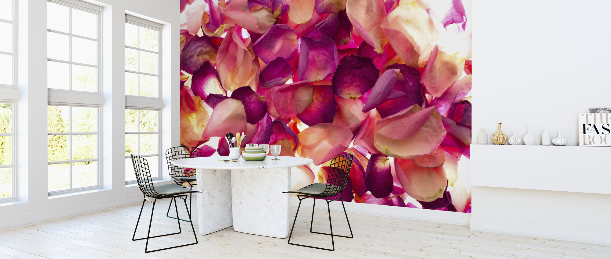 Bed of Rose Petals - Wallpaper - Kitchen