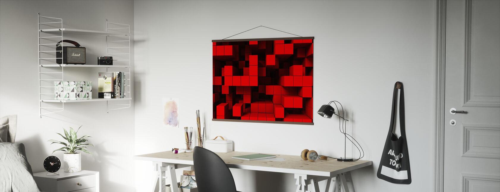 Deep Tetris - Poster - Office