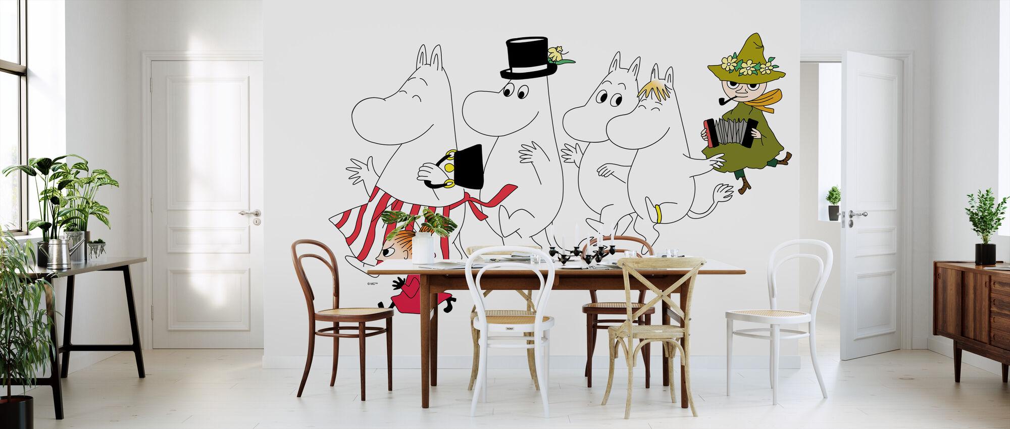 Moomin - The Moomins - Wallpaper - Kitchen