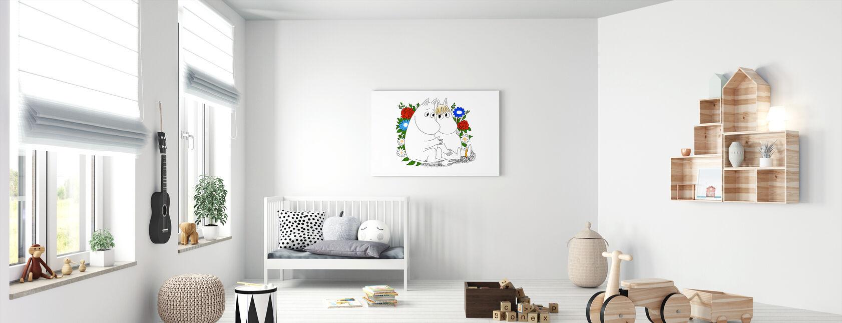 Moomin - Snorkmaiden - Lerretsbilde - Babyrom