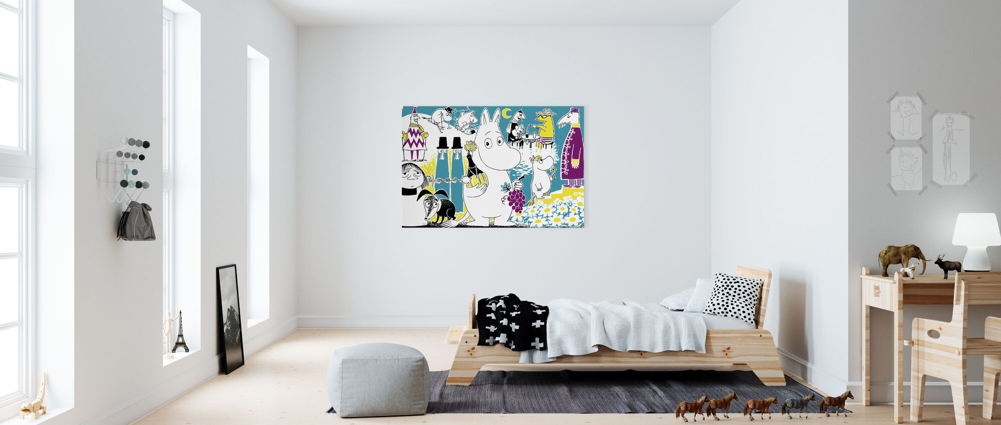 Moomin - Comic Book 2 - Canvas print - Kids Room