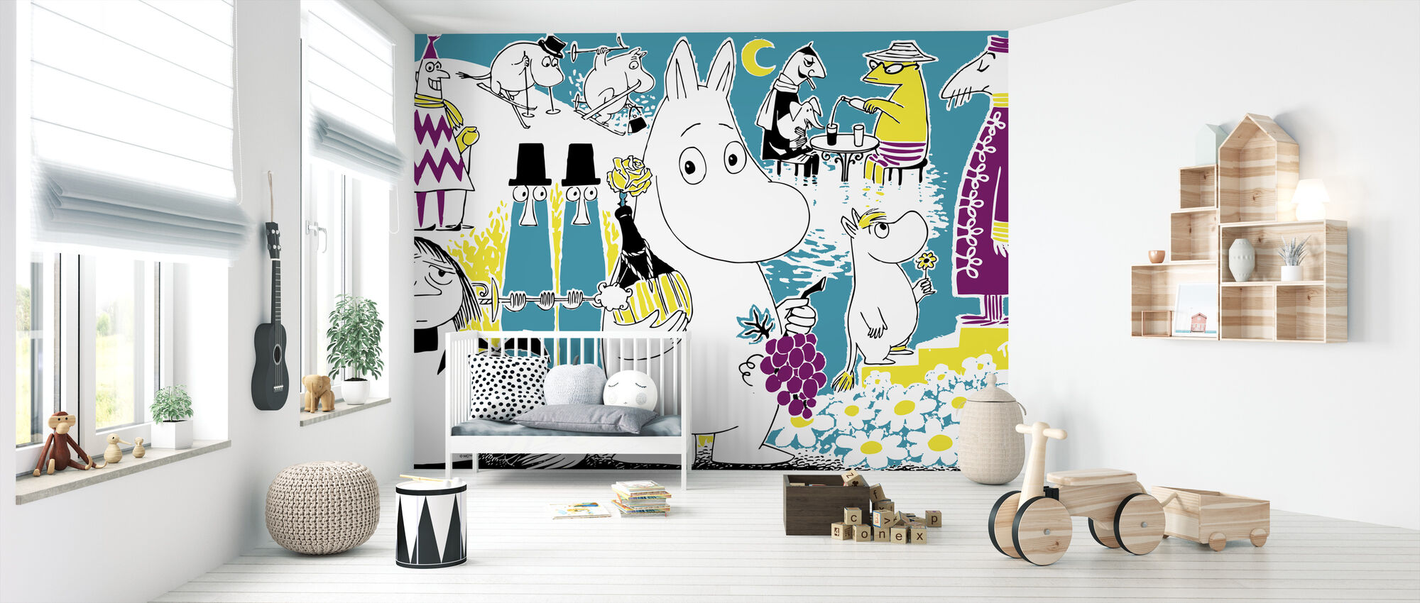 Moomin - Comic Book 2 - Wallpaper - Nursery