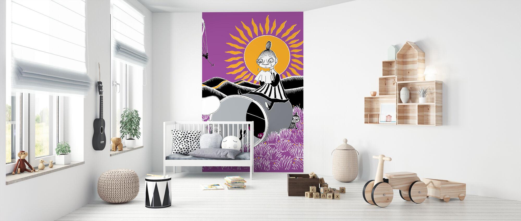 Moomin - Zonnig - Behang - Babykamer