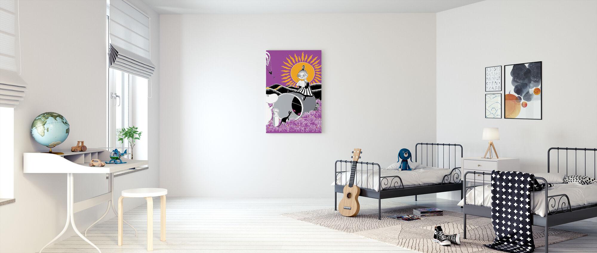 Moomin - Sunny - Canvas print - Kids Room