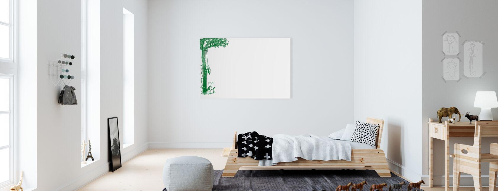 Moomin - Tree - Canvas print - Kids Room